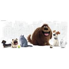 RMK3197GM Secret Life Of Pets Wall Grapc by York