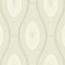 Beige/Metallic Silver Dots Wallcovering by York
