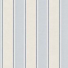 Navy Stripe Wallcovering by Brewster