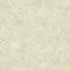 Cream/Beige/Tan Bohemian Wallcovering by York