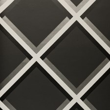 Charcoal Abstract Wallcovering by Clarke & Clarke