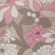Pink Abstract Wallcovering by Clarke & Clarke