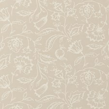 Linen Floral Medium Wallcovering by Clarke & Clarke