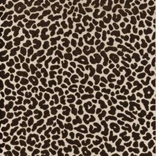 Chocolate Animal Skins Wallcovering by Clarke & Clarke