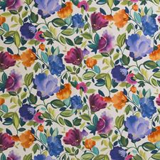 Violet Floral Medium Wallcovering by Clarke & Clarke