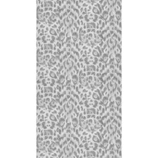 Silver Animal Skins Wallcovering by Clarke & Clarke