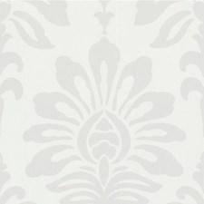 White Botanical Wallcovering by Kravet Wallpaper