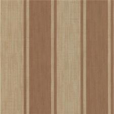Orange/Beige Stripes Wallcovering by Kravet Wallpaper