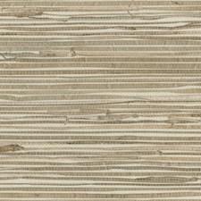 Ivory/Beige Stripes Wallcovering by Kravet Wallpaper