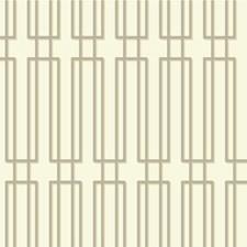 Ivory/Beige/Silver Modern Wallcovering by Kravet Wallpaper