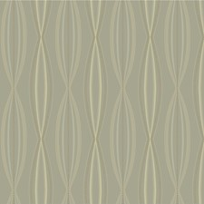 Brown/Silver/Beige Contemporary Wallcovering by Kravet Wallpaper