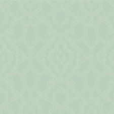 Light Blue/Light Grey Lattice Wallcovering by Kravet Wallpaper