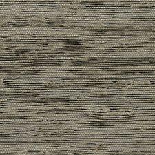 Beige/Black Texture Wallcovering by Kravet Wallpaper