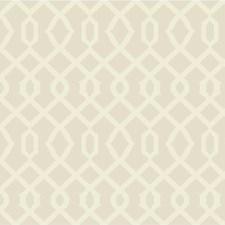 Ivory/Gold/Metallic Lattice Wallcovering by Kravet Wallpaper