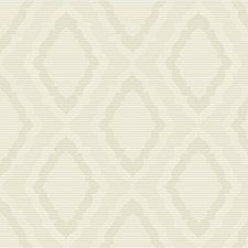 Ivory/Beige/Metallic Damask Wallcovering by Kravet Wallpaper