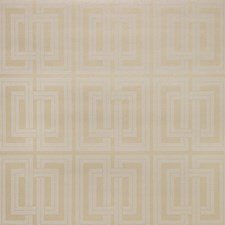 Beige/Metallic/Ivory Geometric Wallcovering by Kravet Wallpaper