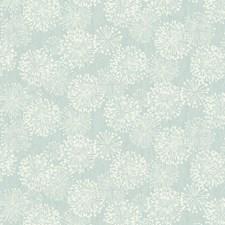Blue/White Modern Wallcovering by Kravet Wallpaper