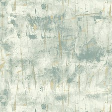 Blue/Light Blue/Gold Modern Wallcovering by Kravet Wallpaper