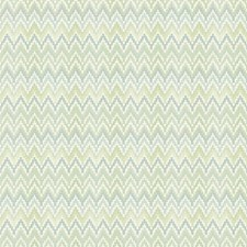Spring Green/Teal/Cream Chevron Wallcovering by York