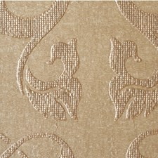 Glistening Gold Damask Wallcovering by Winfield Thybony