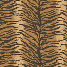 Beige/Black Wallcovering by Scalamandre Wallpaper