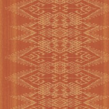 Orange Wallcovering by Scalamandre Wallpaper