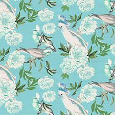 Azur Wallcovering by Scalamandre Wallpaper