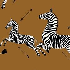 Safari Brown Wallcovering by Scalamandre Wallpaper