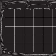WPE2293 Pen & Ink Monthly Calendar by Brewster