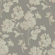 Pewter/Tan/Beige Floral Wallcovering by York