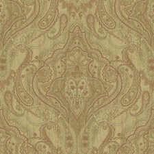Sand/Wheat/Off White Damask Wallcovering by York